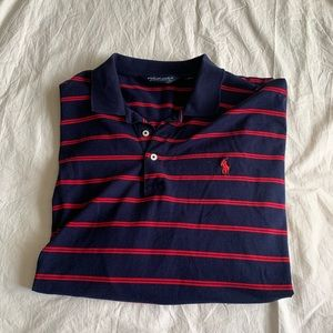 Ralph Lauren Size XL 100% Pima Cotton Striped Polo